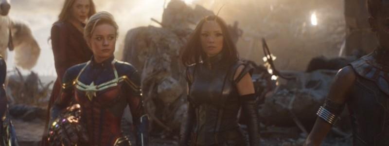 Костюм Капитана Марвел был графикой в «Мстителях: Финал»