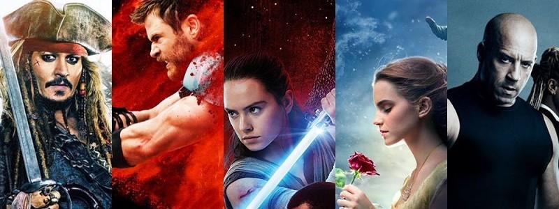 самые кассовые фильмы 2017 года сколько они собрали в прокате