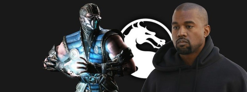 Как Канье Уэст выглядит в роли Саб-Зиро из Mortal Kombat