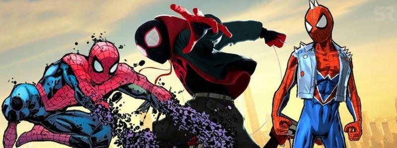 10 лучших версий Человека-паука для сиквела «Через вселенные»