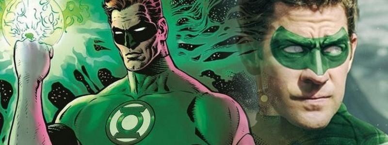 Постер фильма «Корпус Зеленых Фонарей» представил Джона Красинкси героем DC