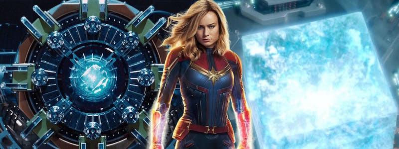 Тессеракт создает сюжетную дыру в «Капитане Марвел»