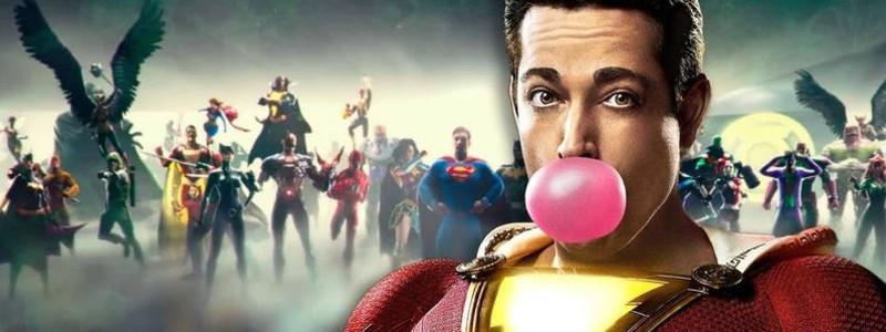 «Шазам» станет последним изначальным фильмом киновселенной DC