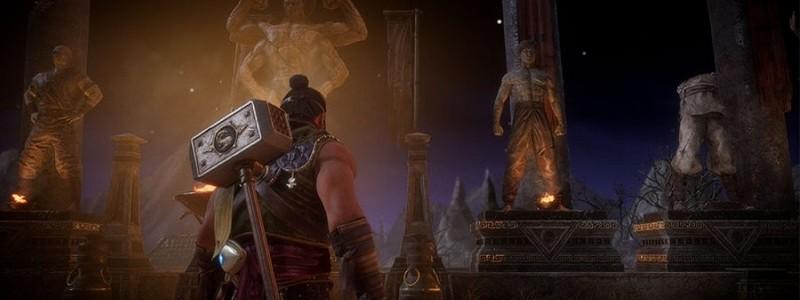 Карта Крипты Mortal Kombat 11 с важными сундуками