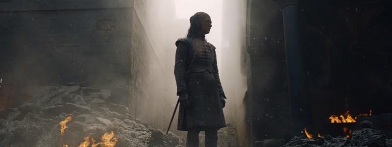 Что означают Арья и белая лошадь в конце 5 серии 8 сезона «Игры престолов»