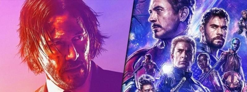 Сборы «Джона Уика 3» свергнут «Мстителей: Финал» с первого места