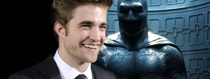 Роберт Паттинсон в роли Бэтмена на новом постере фильма