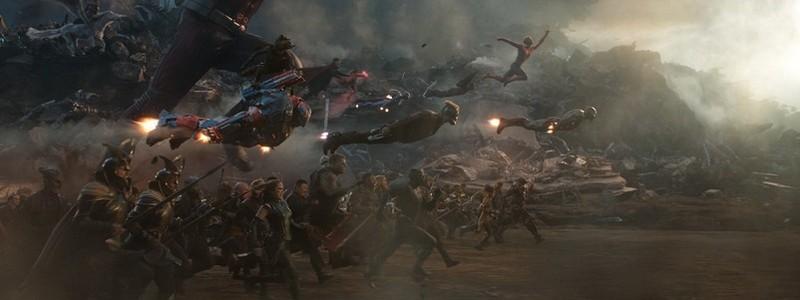 Официальные кадры концовки «Мстителей: Финал»