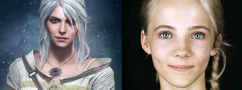 Утекло изображение молодой Цири из сериала «Ведьмак»