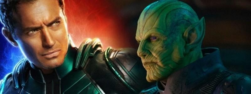 Тизер войны Скруллов и Кри в будущем киновселенной Marvel