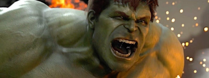 Альтернативный взгляд на Халка из игры Avengers