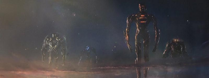 Первые кадры фильма «Вечные» от Marvel