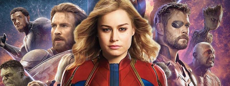 Все фильмы Marvel собрали миллиард в 2019 году