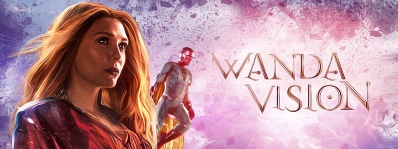 Первый кадры сериала «ВандаВижен» от Marvel Studios