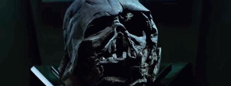 Шлем Дарта Вейдера появился в тизере «Звездных войн 9»