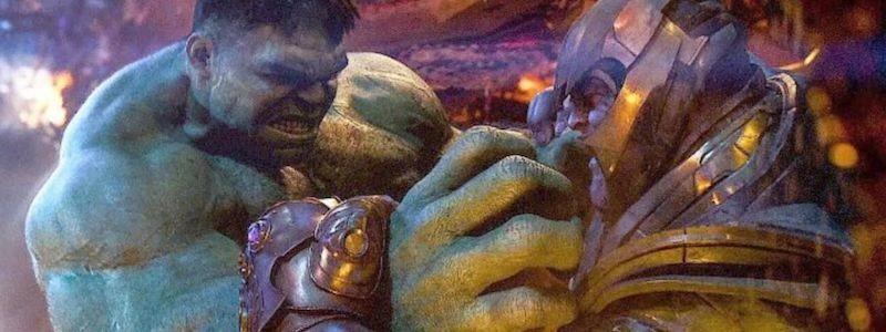 Халк мстит Таносу в удаленной сцене «Мстителей: Финал»