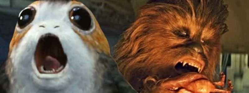 Раскрыто имя Порга Чубаки из «Звездных войн: Последние джедаи»