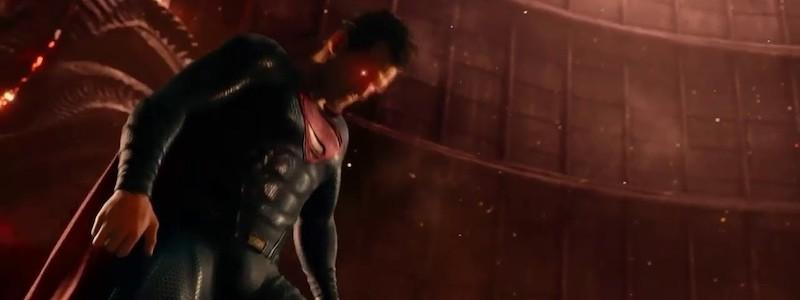 Супермен против Степного волка на концепте «Лиги справедливости»