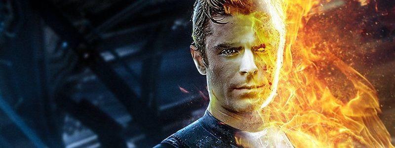 Как Зак Эфрон выглядит в роли Человека-факела в MCU