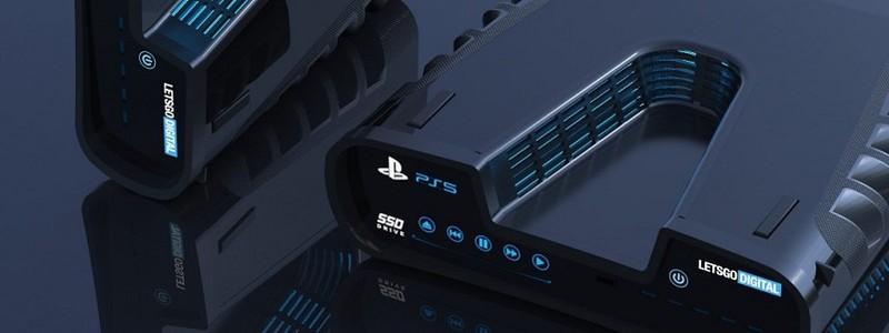 Утек новый взгляд на PS5 и DualShock 5