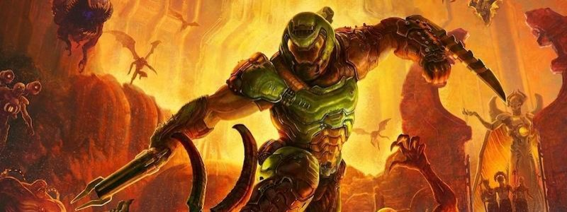 Посмотрите начало Doom Eternal