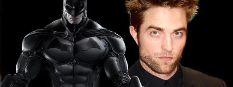 Роберта Паттинсона видели в костюма Бэтмена
