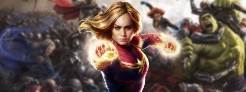 Капитан Марвел в вырезанной сцене «Мстителей: Эра Альтрона» (видео)