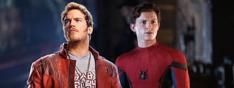 Крис Пратт помог Тому Холланду во время борьбы за Человека-паука