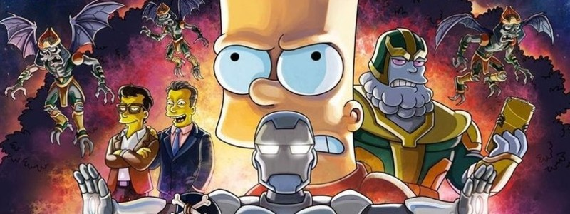 Постер серии «Симпсонов» с режиссерами «Мстителей: Финал»