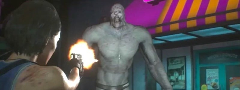 Nude-мод для Resident Evil 3 раздевает Немезиса