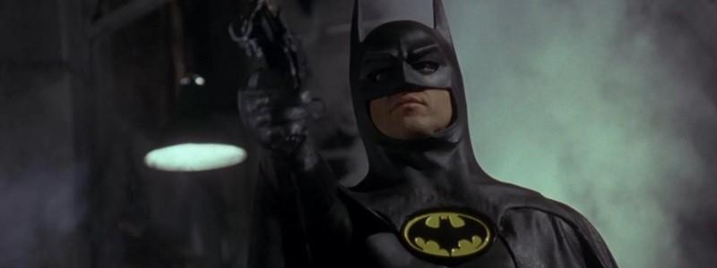 Показано, как выглядит Майкл Китон в фильме «Бэтмен будущего»