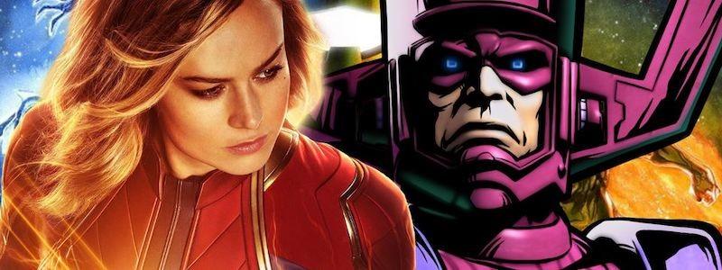 «Капитан Марвел 2» заложит основу для Галактуса