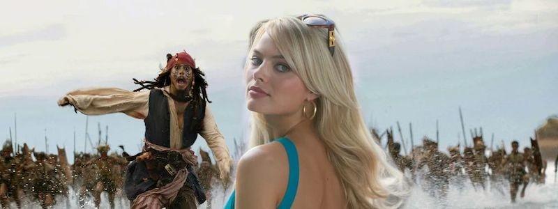 Марго Робби появится в «Пиратах Карибского моря 6» без Джонни Деппа