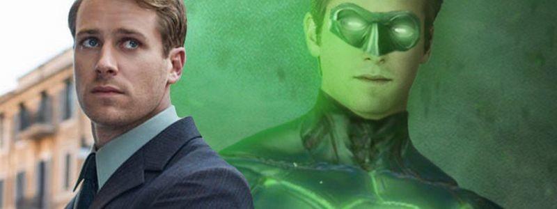 Как Арми Хаммер выглядит в роли Зелёного Фонаря в DCEU