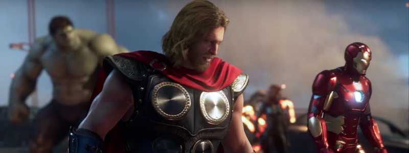 В Сеть слили бета-версию Marvel's Avengers