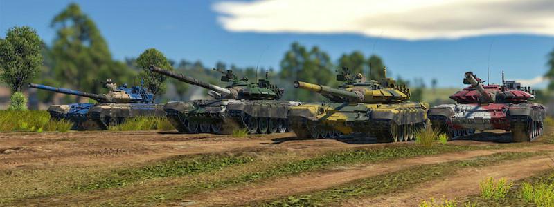 Танковый и морской биатлоны появился в War Thunder