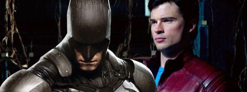 Бэтмен без маски выглядит смешно в истории про Смолвиль