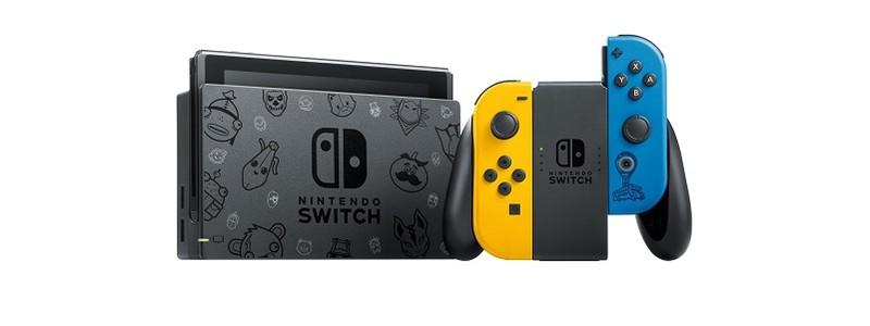 Анонсирована Nintendo Switch в стиле Fortnite. Дата выхода в России