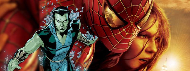 Камео Нэмора есть в фильме «Человек-паук 2». Это Аквамен от Marvel