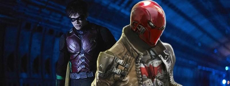 DC тизерят первый взгляд на Красного колпака в 3 сезоне «Титанов»