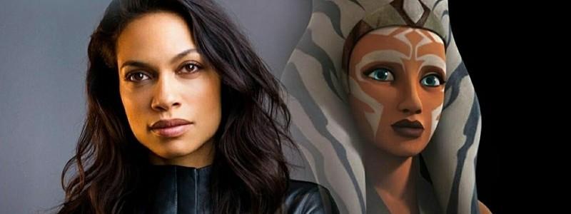 Подтверждено, что Розарио Доусон играет Асоку Тано в «Звездных войнах»