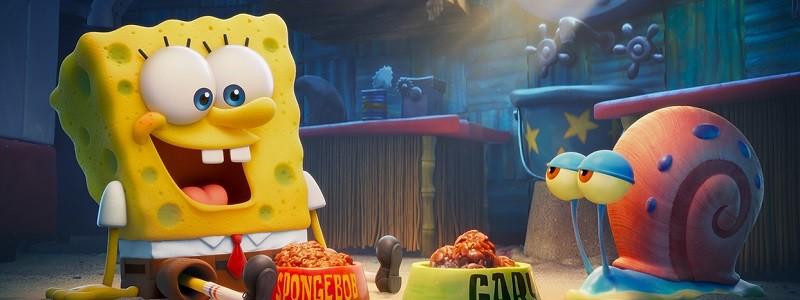 Мультфильм «Губка Боб в бегах» уже можно посмотреть онлайн