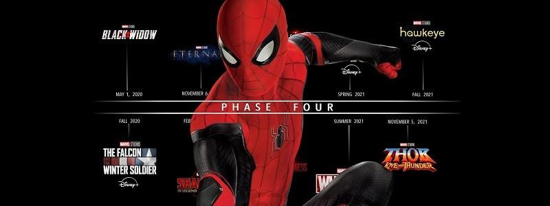 Marvel внесли изменения в таймлайн из-за переносов 4 Фазы MCU