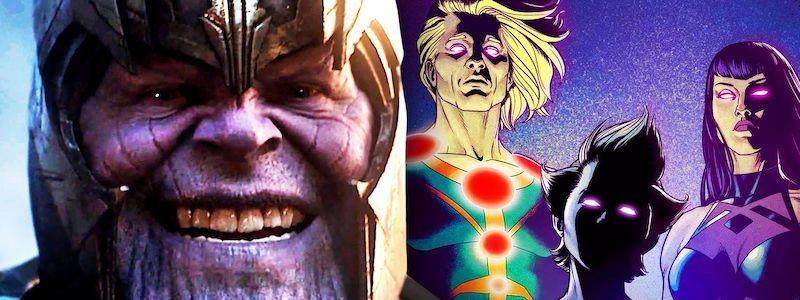 Подтверждена связь фильма «Вечные» с Таносом