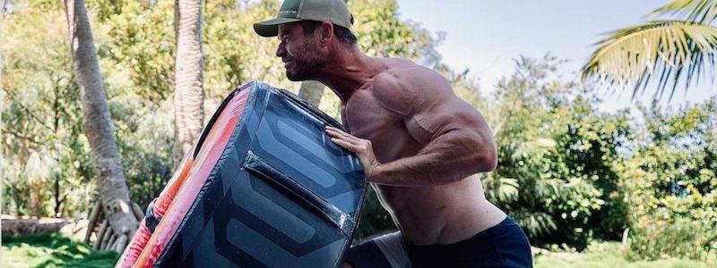 Реакция Натали Портер на телосложение Криса Хемсворта для «Тора 4»