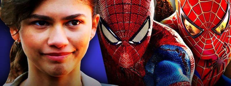 Зендея тизерит Тоби Магуайра и Эндрю Гарфилда в «Человеке-пауке 3»