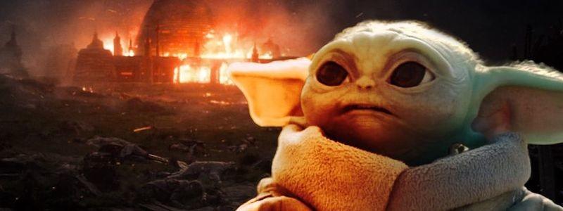 Объяснение, как Грогу пережил нападение Кайло Рена на Академию джедаев в «Звездных войнах»