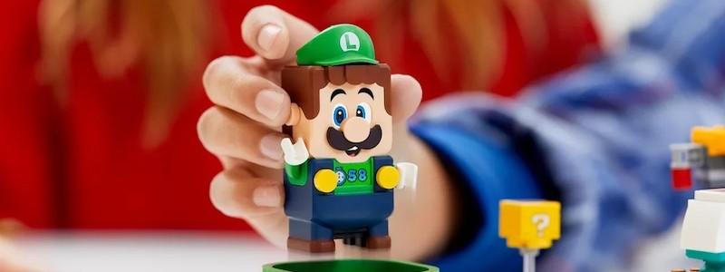 Представлен набор LEGO Super Mario с Луиджи