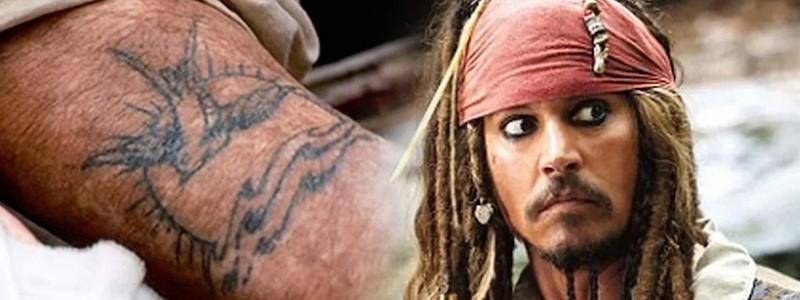 Татуировки Джека Воробья не имеют смысл в «Пиратах Карибского моря»