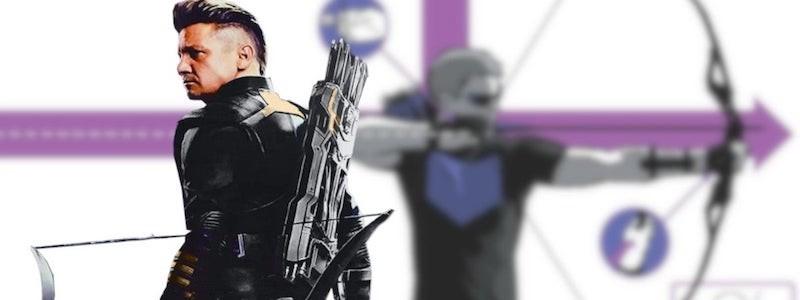 Представлен новый костюм Соколиного глаза в киновселенной Marvel